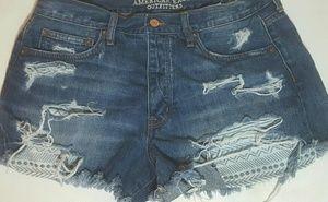 American E.O. Hi-Rise Vintage Festival shorts